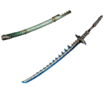 MH3U-Long Sword Render 014