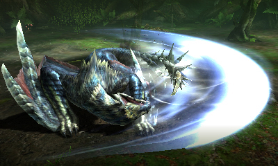 MHGen-Silverwind Nargacuga Screenshot 002
