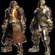 MHGU-Genprey Armor (Blademaster) Render