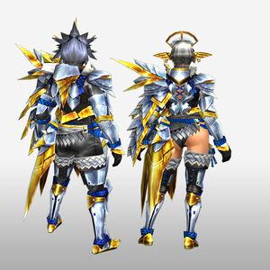 FrontierGen-Arugoru Armor (Gunner) (Back) Render