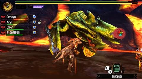 Monster Hunter 4G - G Rank Quests 19 Brachydios Variant モンスターハンター4G