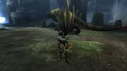 MHP3-Green Nargacuga Screenshot 001