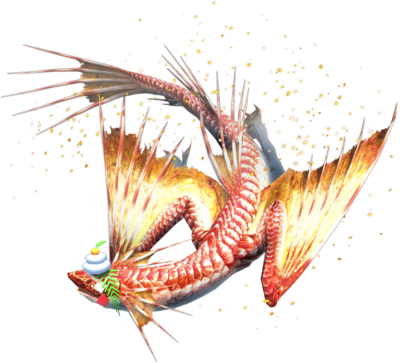 MHXR-Seabream Plesioth Render 001