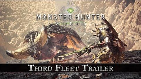 Monster Hunter World - Third Fleet Trailer