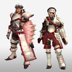 FrontierGen-Furufuru G Armor (Gunner) (Front) Render