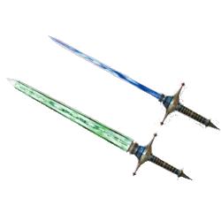 MH4-Dual Blades Render 011