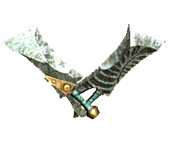 MHGU-Dual Blades Render 001