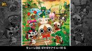 MH 10th Anniversary-MH Diary Poka Poka Felyne Village G Wallpaper 001