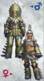 MH3U Qurupeco Armor (Blade)