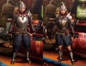 MH4U-Chainmail Armor (Both) Render 001
