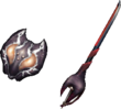 MHP3-Sword and Shield Render 014