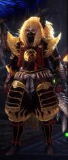 MHWI-GoldenB+ArmorSet