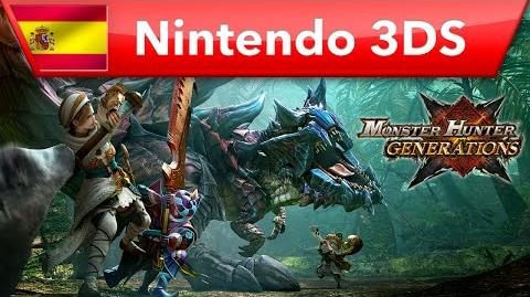 Monster Hunter Generations - Comienza la cacería (Nintendo 3DS)