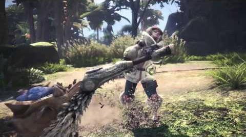 Monster Hunter World - Tráiler armas tecnológicas.