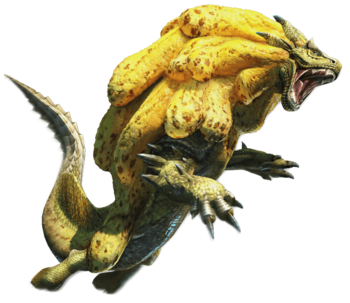 MHGen-Render Ludroth Real