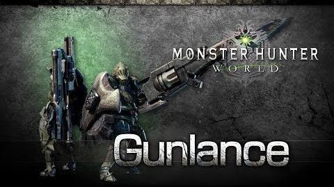 Monster Hunter World - Lanza Pistola