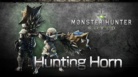 Monster Hunter World - Cornamusa