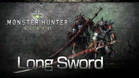 Monster Hunter World - Espada Larga