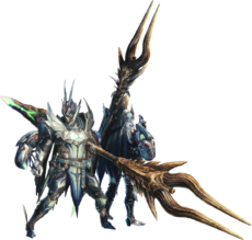 MHWI-Render Equipo Glaive Insecto 001