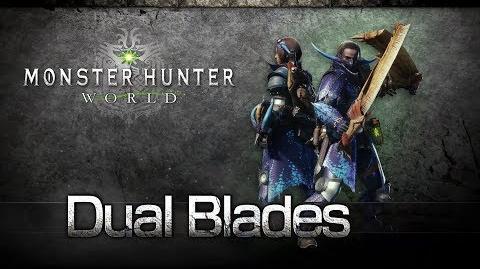 Monster Hunter World - Espadas Dobles