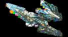 MH3U-Render Lanza Lagiacrus Marmóreo