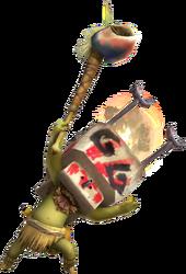 MH3-Máscara Asador