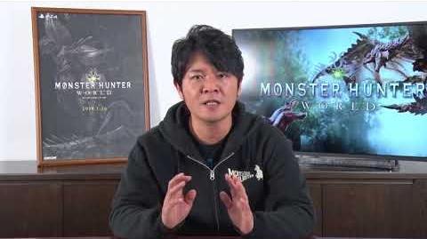 Monster Hunter World - Mensaje de Ryozo Tsujimoto
