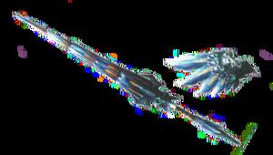 MH3U-Render Lanza Nargacuga Lunar