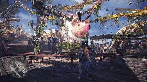 Monster Hunter World - Gathering Hub Spring Blossom Theme