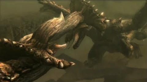 3DS Monster Hunter 4 Ultimate -Diablos Intro-