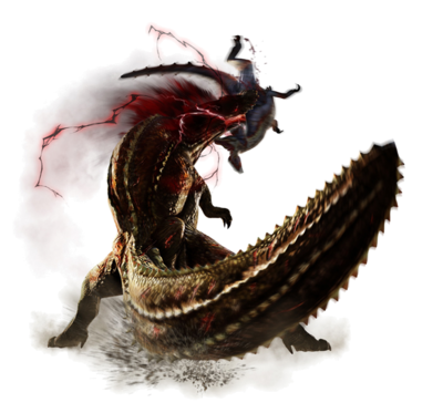 MH4-Render Deviljho Despiadado