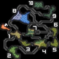 MH3U-Mapa Bosque Inundado