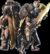 MHWI-Render Equipo Espadas Dobles 001