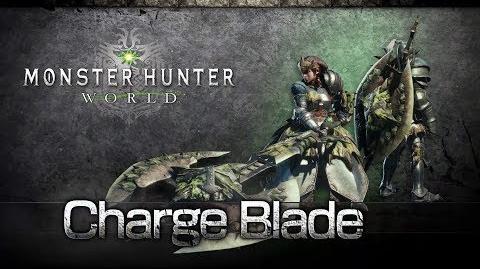 Monster Hunter World - Hacha Cargada