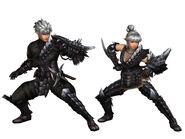 MHFG-Black Shadow G Armor (Gunner) Render 2