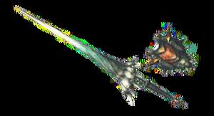 MH3U-Render Lanza Diablos Negro