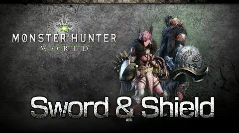 Monster Hunter World - Espada y Escudo