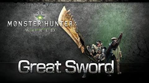 Monster Hunter World - Gran Espada