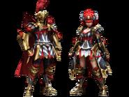 MHFG-Magushia Armor (Blademaster) Render 2