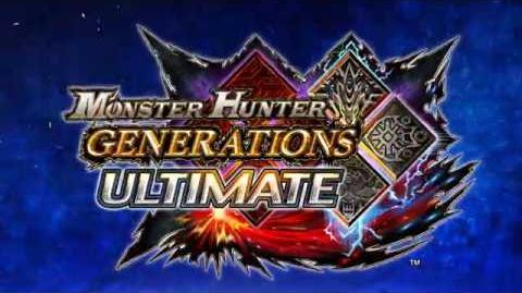 Monster Hunter Generations Ultimate - Anuncio Switch