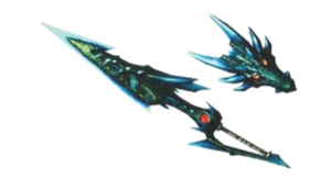 MH3U-Render Lanza Lagiacrus del Abismo