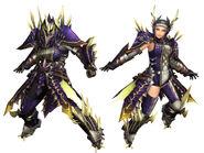 MHFG-Rebidiora G Armor (Blademaster) Render 2