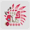 MHOL-Icono Rathian Rosa