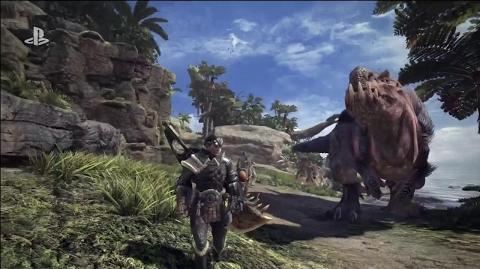 Monster Hunter World Reveal Trailer - E3 2017 Sony Conference