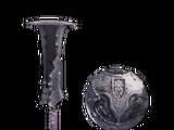 Espada Acero Negro (MHW)