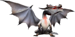 MH2-Render Fatalis Blanco