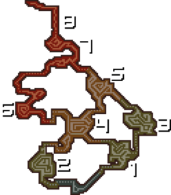 MHF1-Mapa Volcan