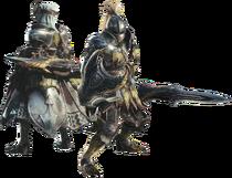 MHWI-Render Equipo Espada y Escudo 001