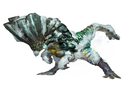 MHP3-Render Barroth Esmeralda