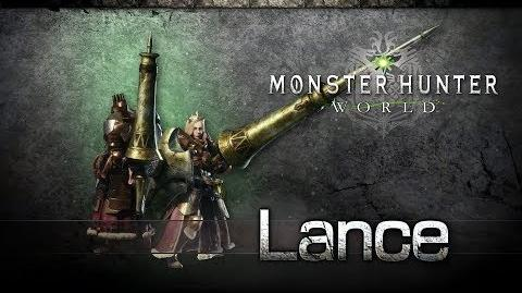 Monster Hunter World - Lanza